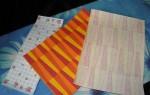 Как сделать цветную бумагу для открыток своими руками