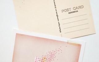 Состаренные открытки своими руками для влюбленных с сердечками-шаблон для печати