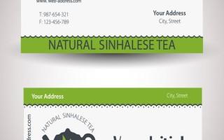 Визитка чайной компании