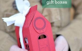 Как сделать подарочную упаковку в виде домика своими руками из бумаги+ шаблон для вырезания