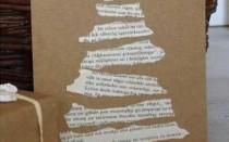 40 идей простых открыток своими руками с Рождеством и Новым годом