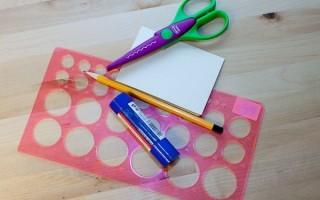 Как сделать закругленные углы для открытки своими руками