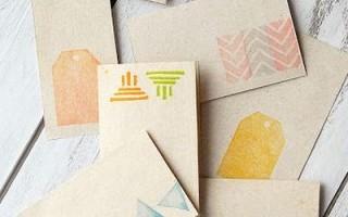 Как сделать простые штампы для открыток своими руками
