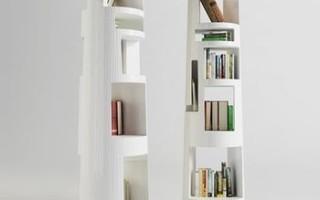 5 стильных книжных полок о которых вы и не мечтали