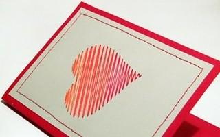 60 идей простых открыток на День Святого Валентина или просто в подарок второй половинке