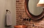 40 стильных и красивых идей для интерьера ванной комнаты с кирпичной кладкой