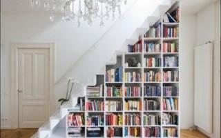 5 лучших идей как использовать место под лестницей