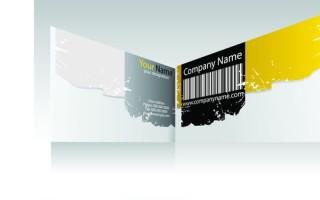 Шаблон визитки рекламного агентства