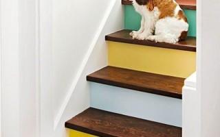 10 оригинальных идей как покрасить лестницу у вас в доме