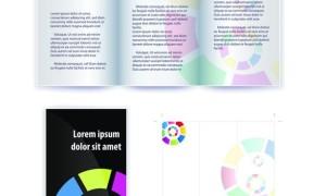 Шаблон буклета в eps для рекламных акций