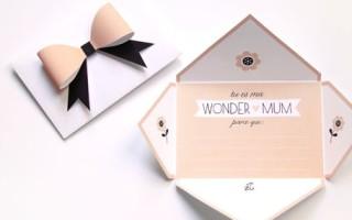 Открытка с конвертом своими руками для любимой мамы