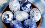 Супер простой способ покрасить пасхальные яйца обычным лаком для ногтей