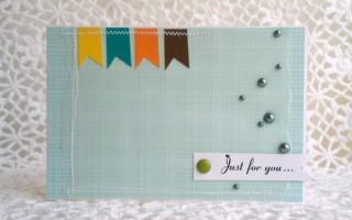 Очень простая подарочная открытка своими руками