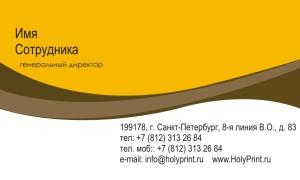 Бесплатный макет визитки «Юридические / финансовые / бизнес-услуги»