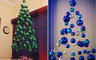 Как украсить елку своими руками