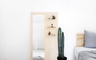 Крутое зеркало из обычной фанеры своими руками