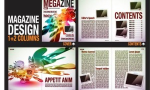 Шаблон журнала в eps
