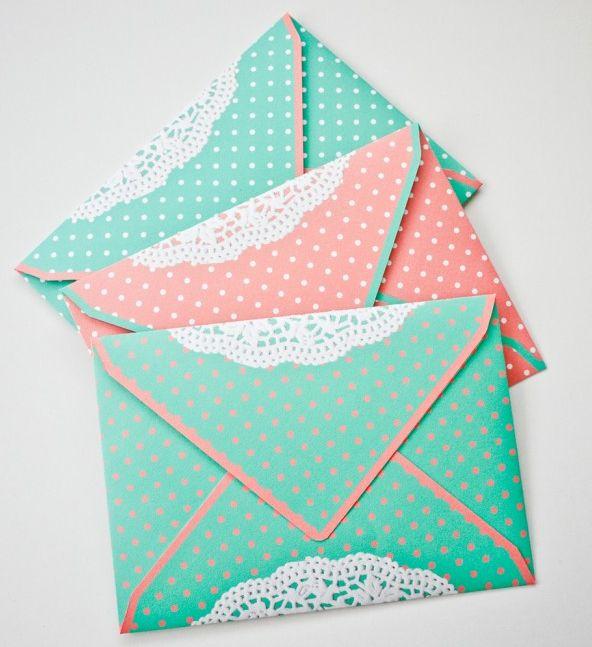 Конвертики для маленьких открыток