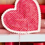 Валентинка своими руками в форме сердечка