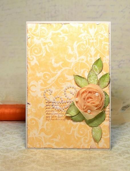 Картинки, открытки из ткани и бумаги своими руками