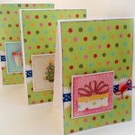 Три новогодних открытки по «цене» одной своими руками