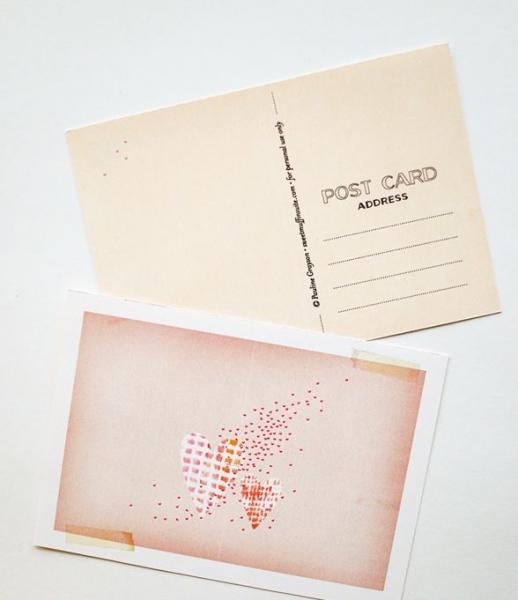 Рабочего дня, подготовить в печать открытку