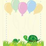 Шаблон для печати детской поздравительной открытки своими руками