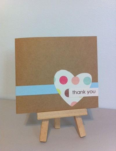 Милые открытки из картона