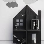 Как сделать простой и красивый детский кукольный домик из фанеры своими руками + бесплатные шаблоны для скачивания