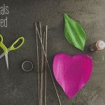 Мастер-класс как сделать гигантский цветок розы из бумаги для фотосессии своими руками + шаблон для вырезания