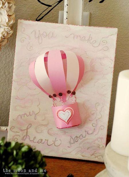 Открытка с днем рождения своими руками воздушные шары