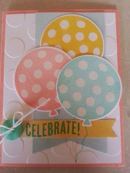 Свадьбу, сделать открытку с шариками на нитке