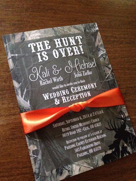 оформление красной атласной лентой свадебной открытки