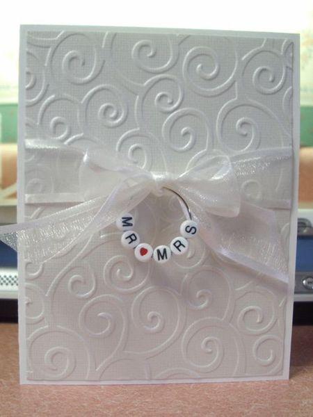 фото объемных узоров на свадебной открытке
