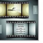 Шаблон визитки видеооператора