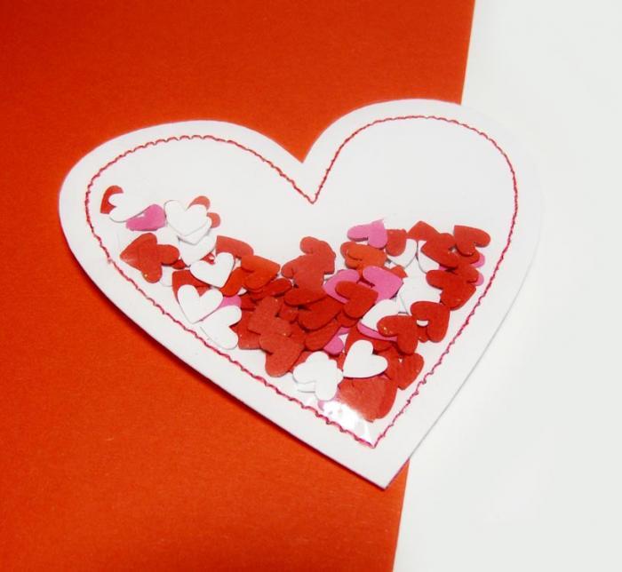 Открытка в виде сердечка своими руками, картинках открытка объемная