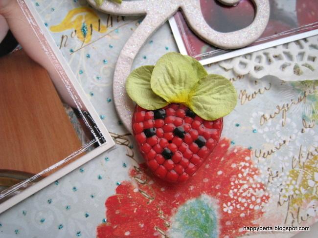 открытка ягодка своими руками это растение пряным