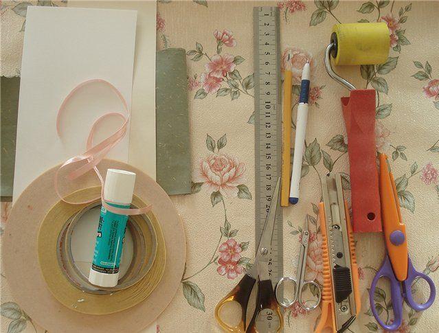 Инструменты для работы с открытками, день картинки надписями
