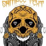 Образец принта «Орнамент с черепом»